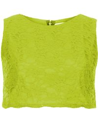 Topshop Ettie Crop Top By Jones and Jones - Lyst