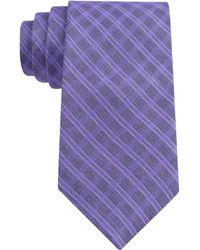 Elie Tahari Heather Check Tie - Lyst