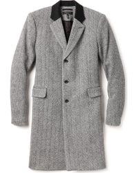 Rag & Bone Gray Victor Coat - Lyst