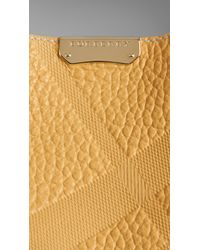 Burberry - The Small Canter In Bonded Leather - Lyst