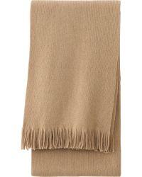 Uniqlo - Heattech Knit Scarf - Lyst
