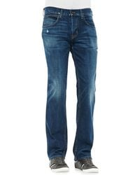 Hudson Byron Lyric Jeans Medium Blue - Lyst