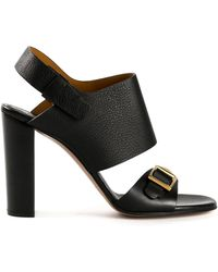Chloé Buckled Sandals - Lyst