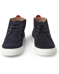 Oliver Spencer | Beat Suede Rubber-Soled Chukka Boots | Lyst
