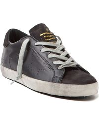 Golden Goose Deluxe Brand Perforated Star Sneakers - Lyst