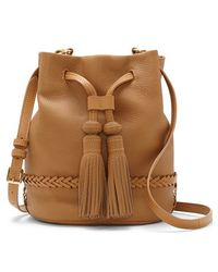 Vince Camuto 'Leigh' Leather Crossbody Bag - Lyst