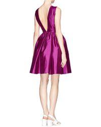 Chictopia - Full-flare V-back Dress - Lyst
