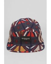 Obey Nation 5panel Hat - Lyst