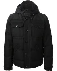 Moncler Pocketed Coat - Lyst