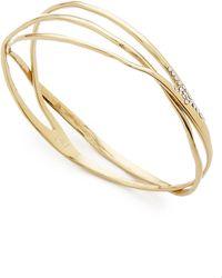 Alexis Bittar Liquid Bangle Bracelet - Gold - Lyst