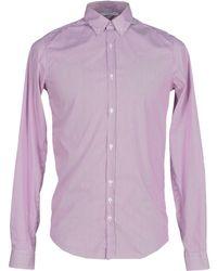 Aglini | purple Shirt | Lyst