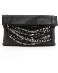 Ash B Chain Clutch - Lyst