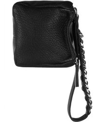 Givenchy Small Pandora Wristlet Bag in Black Texturedleather - Lyst