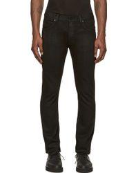 Helmut Lang Black Skinny Jeans - Lyst