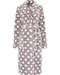 Dickins & Jones | All Over Print Shawl Robe | Lyst