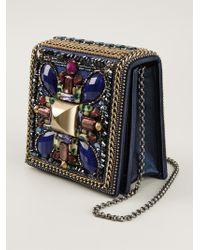 Beavaldes - Lyres Lapis Gemstones Shoulder Bag - Lyst