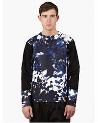 Marni Men'S Bonded Printed Sweatshirt blue - Lyst