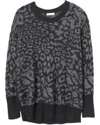 Rebecca Taylor Mohair Pullover - Lyst