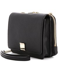 Loeffler Randall Walker Mini Bag Black - Lyst