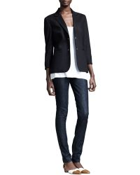 The Row Stretch-Wool Summer Blazer - Lyst