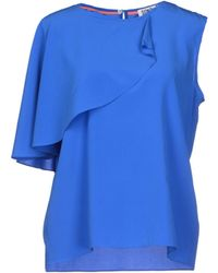 Sonia by Sonia Rykiel Top blue - Lyst