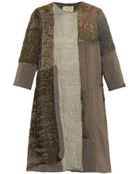 By Walid Vintage Chinese Patchwork Swing Coat - Lyst
