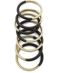 Antik Batik Wooky Bracelet Set - Black - Lyst