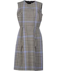 Yves Saint Laurent Rive Gauche Kneelength Dress - Lyst