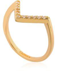KENZO - Sand Symbol 3 Ring Set - Lyst