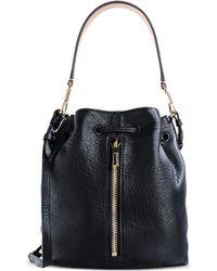 Elizabeth And James Medium Leather Bag - Lyst
