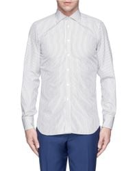 Turnbull & Asser Bengal Stripe Poplin Shirt multicolor - Lyst