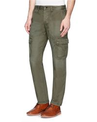 Rag & Bone Radar Light Wash Cargo Pants - Lyst