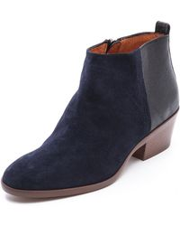 Madewell Charley Booties Night Vision - Lyst