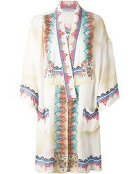 Etro Tribal Print Kimono - Lyst