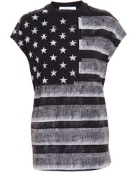 Givenchy American Flag Top - Lyst