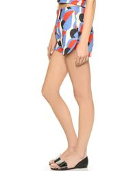 Être Cécile - Disco Royale Print Full Shorts - Multi - Lyst