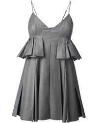 Alexander Wang Strapless Dress - Lyst