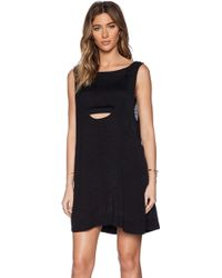 Free People Tropical 2Fer Mini Dress - Lyst