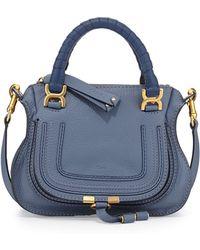 Chloé Marcie Mini Shoulder Bag - Lyst