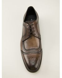 Dolce & Gabbana Brogue Detailed Derby Shoes - Lyst