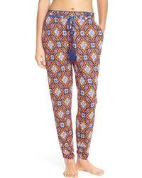 Bollydoll | Print Modal Jogger Trousers | Lyst