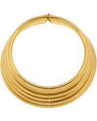 Vickisarge - Burma Gold-Plated Necklace - Lyst