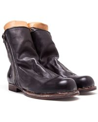 Miharayasuhiro Leather Distressed Boots - Lyst