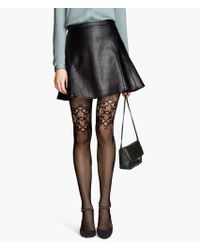 H&M Mesh Tights - Lyst