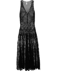 Zimmermann Elixir Crochetknit Cotton Maxi Dress - Lyst