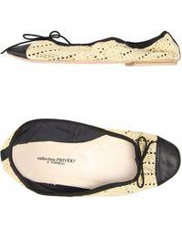 Collection Privée Ballet Flats - Lyst