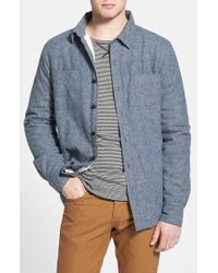 Threads For Thought - Fleece Lined Organic Cotton Shirt Jacket - Lyst