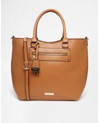 Carvela Kurt Geiger - Audrey Structured Shopper Bag - Lyst