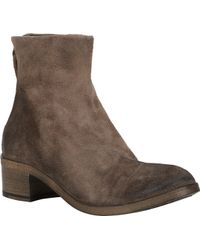 Marsell Back-Zip Ankle Boots - Lyst