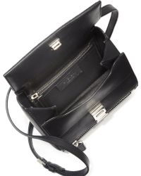 Givenchy Pandora Box Mini Calf Hair & Leather Crossbody Bag black - Lyst